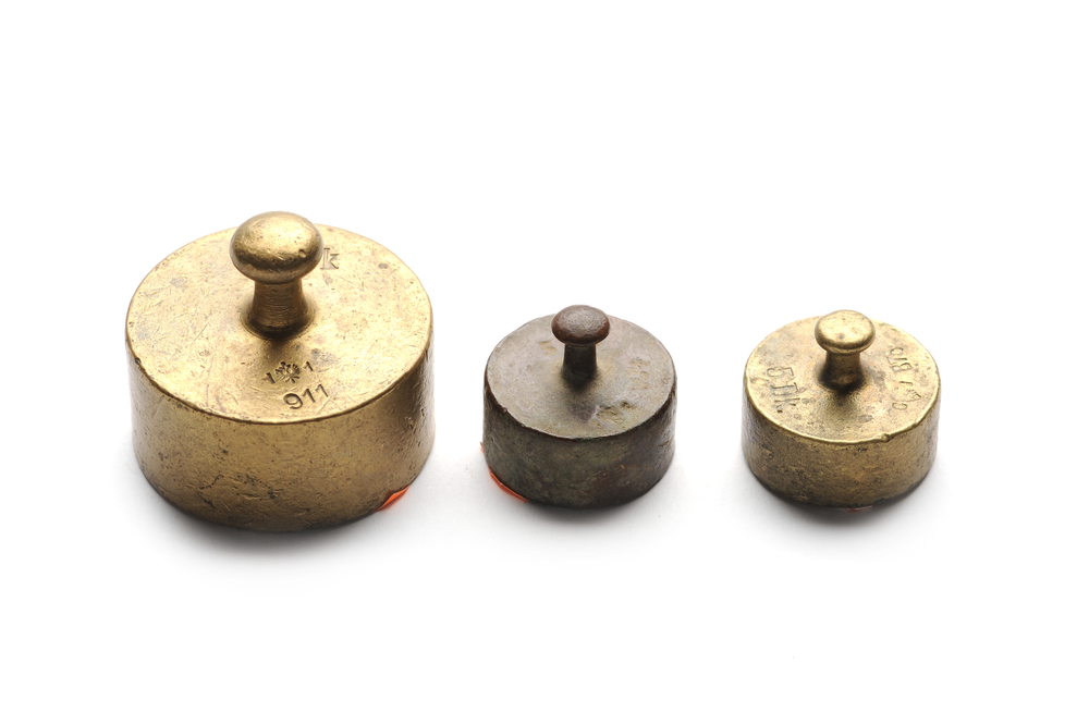Scale Calibration Weights >> Department of Weights and Measures | Garber Metrology Services